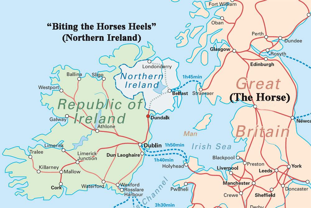 The Tribe Of Dan Is The Irish Denmark